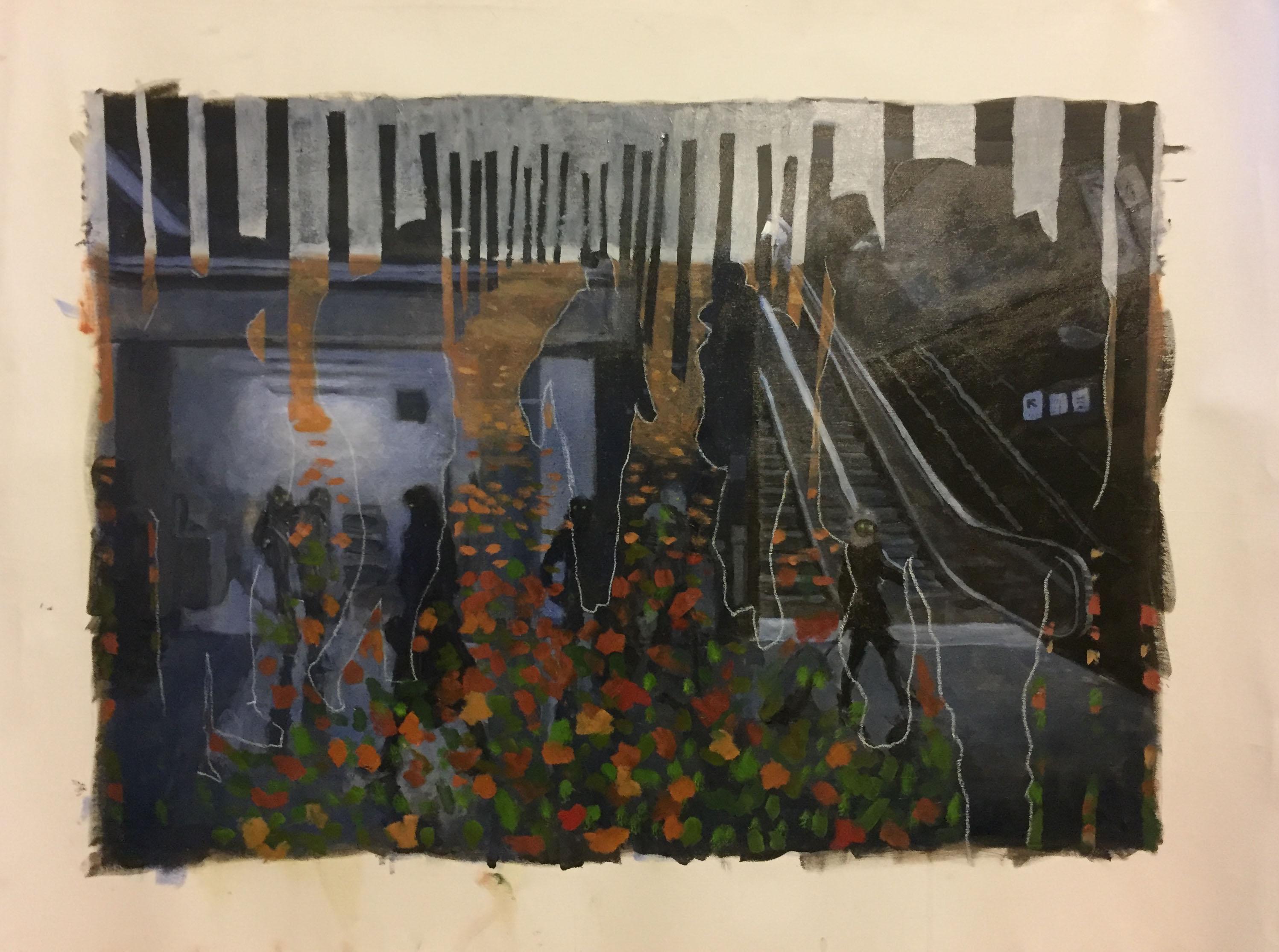 Schilderij op canvas